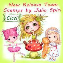I am  a Design-team member over at Julia Spiri