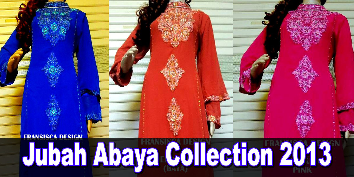 Jubah Abaya Collection 2013 | Latest Abayas Of 2013