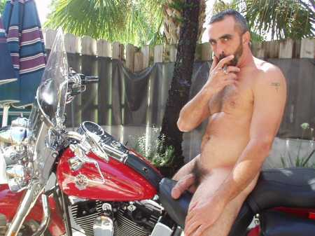 men bikers naked