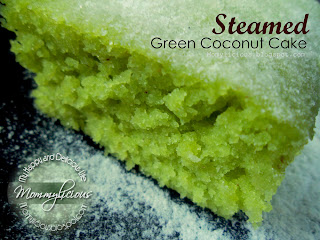 Steamed Coconut Cake