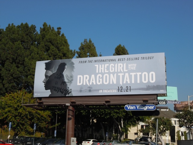 The Girl with the Dragon Tattoo billboard