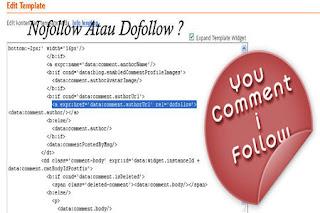 Nofollow Atau Dofollow ?