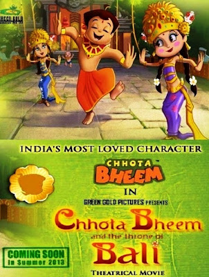 Chhota Bheem and The Throne of Bali (2013) Poster
