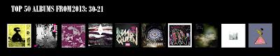 Top Albums 30-21