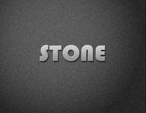 Video Tutorial : Create Stone Text Effect In Photoshop