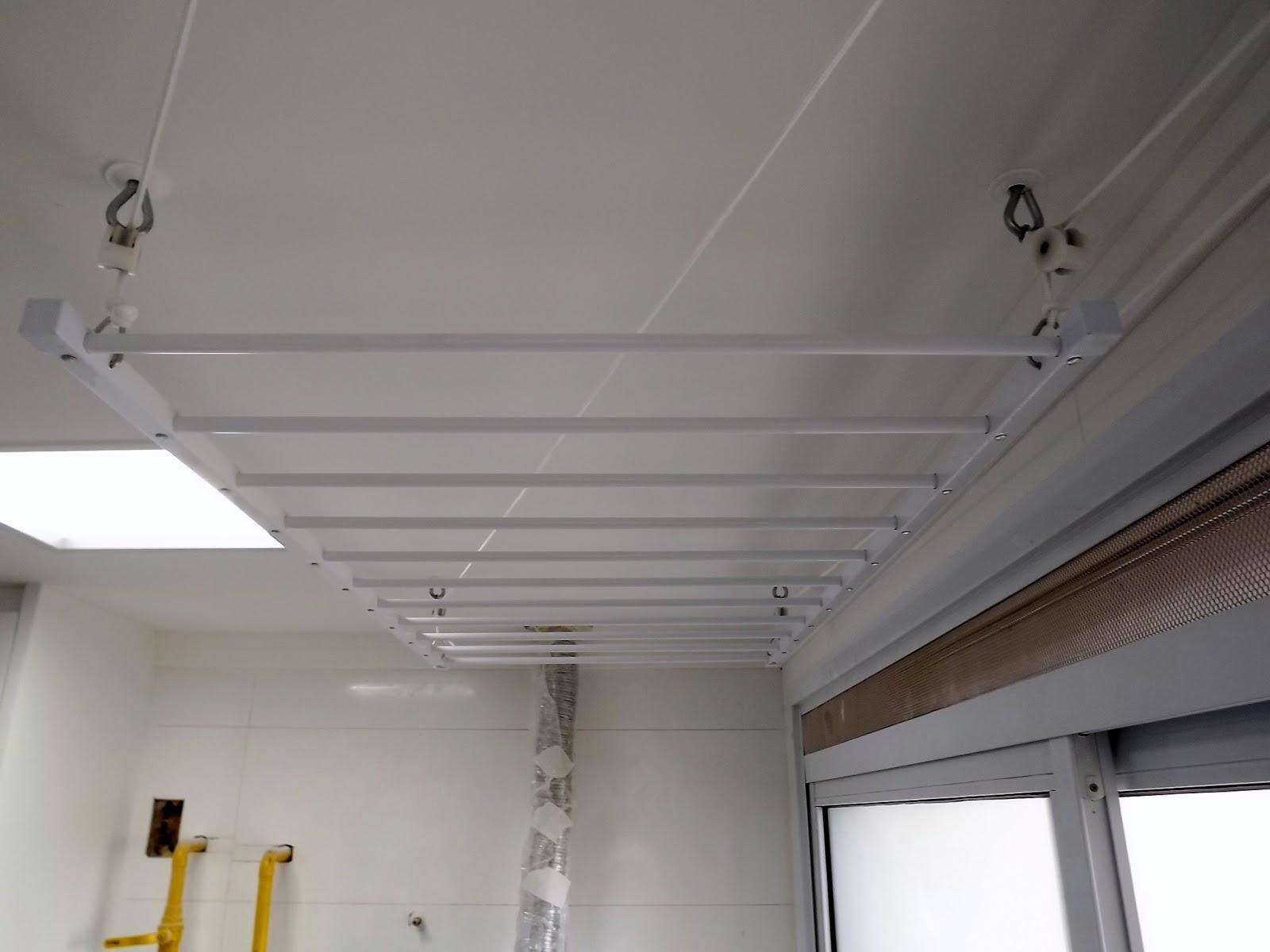 Muitas vezes Varal de teto com manivela | Varais e Varal, Vendas, dicas e sugetões VB62