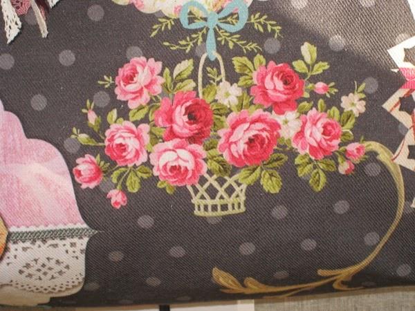 bolso bandolera de flores