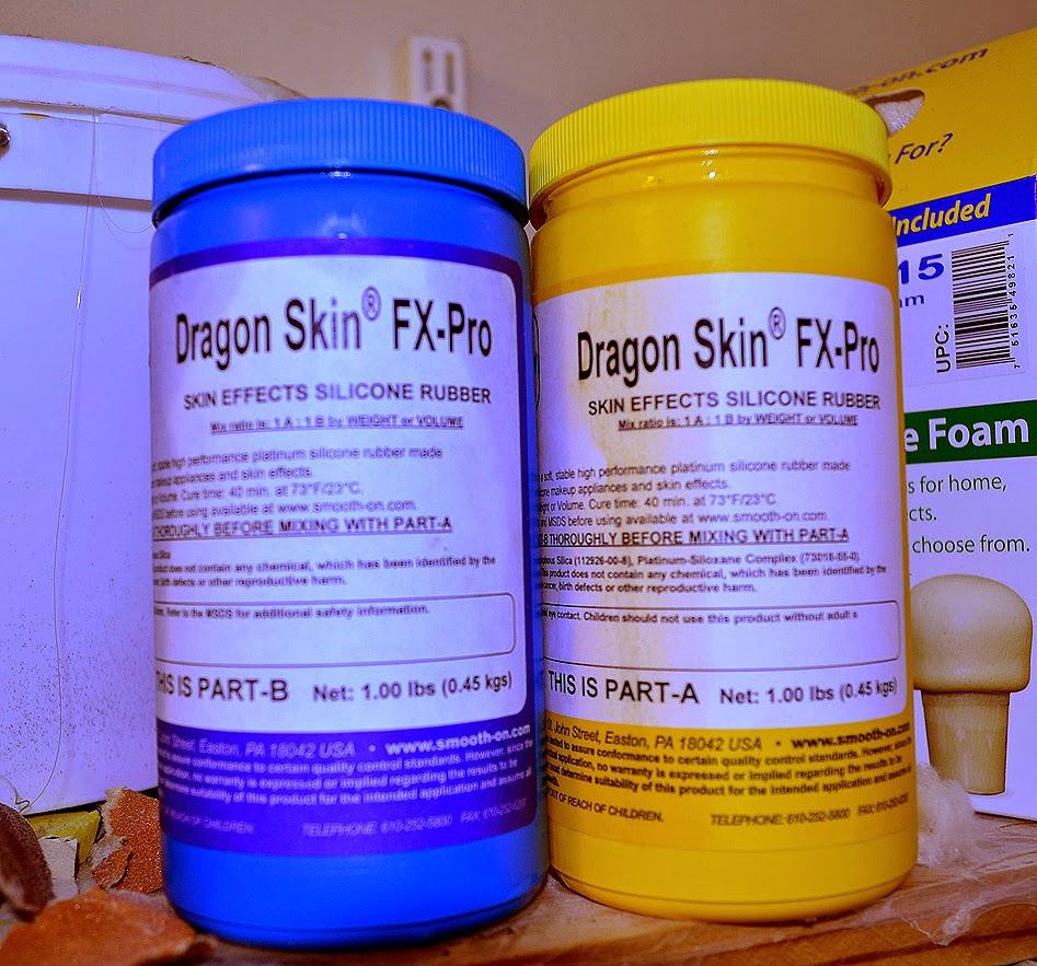 Paint To Use Dragon Skin Silocone Airbrush