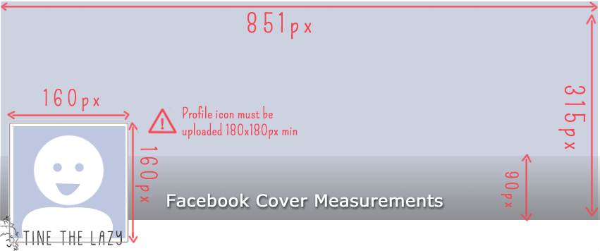 Facebook timeline cover measurements guide