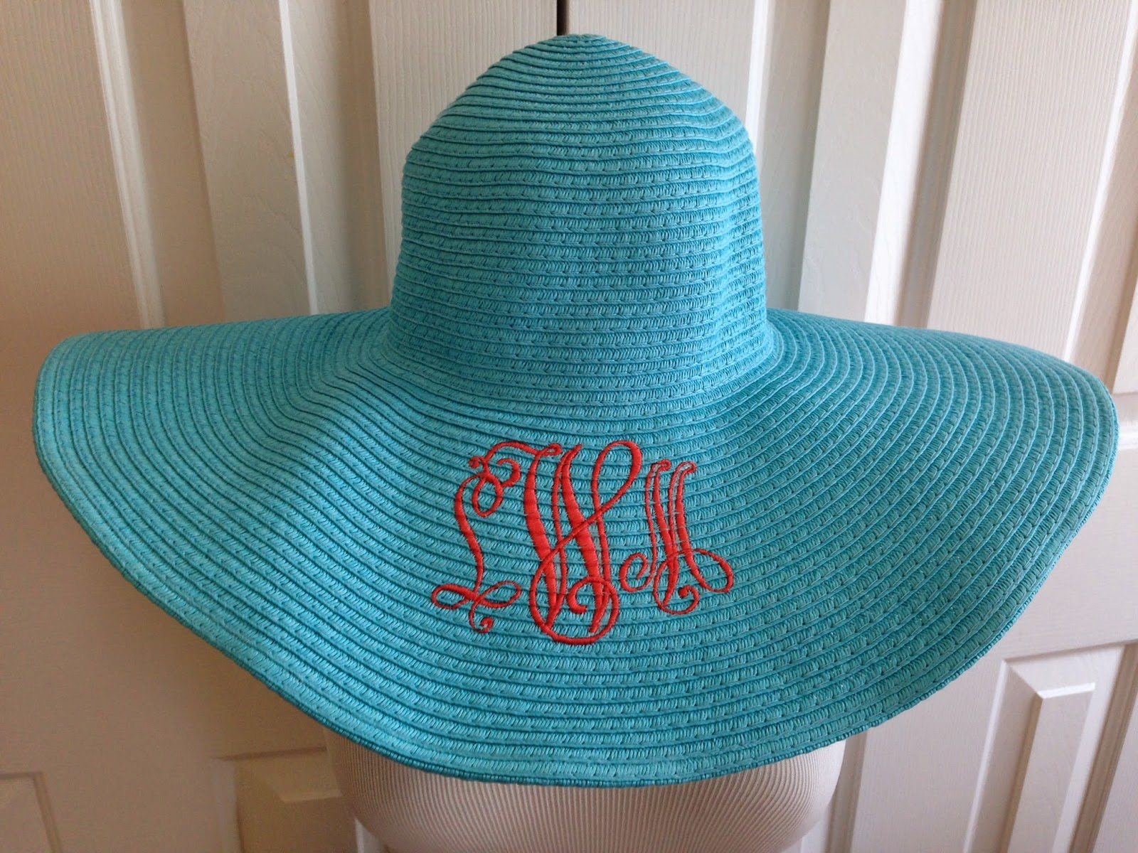 Every Woman Needs A Floppy Straw Hat In The Summertime You Can Find Straw  Hats Everywhere And You Can Embroider Them Because The Fibers Are Woven  You Can