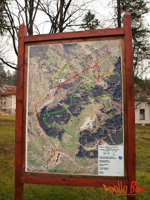 Harta Cicloturistica Borsec