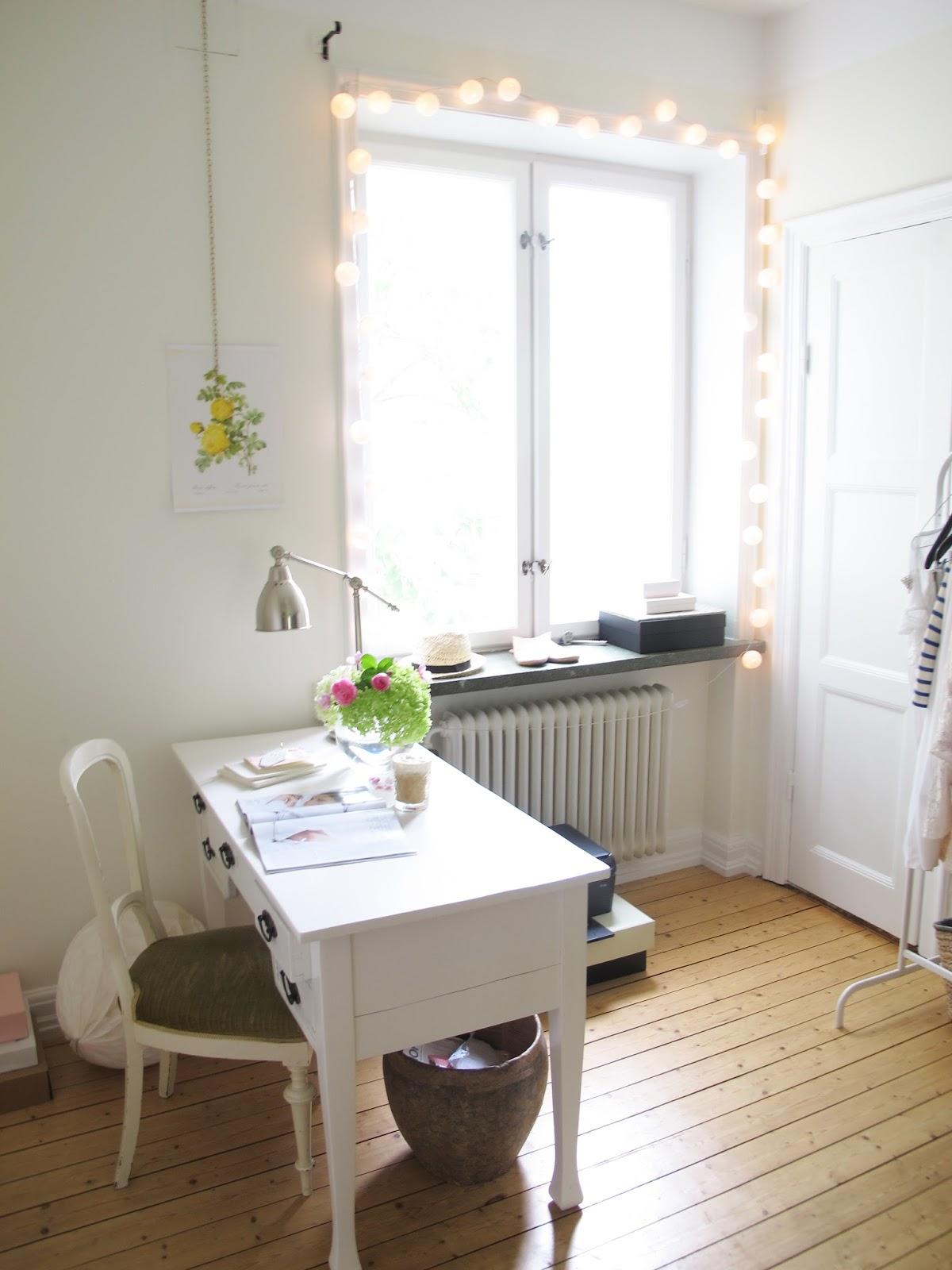 Victoria Beckham, British Vogue, Patrik Demarchelier, Home Decor, Hydrengea, Hortensia, Inredning, Kontor,
