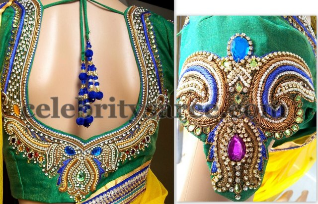 Zardosi Bridal Blouse Design