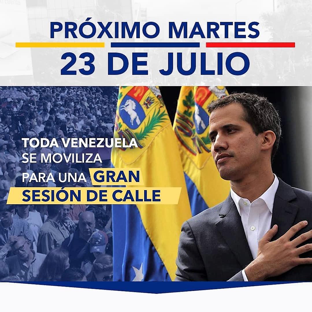 23 de julho: Venezuela