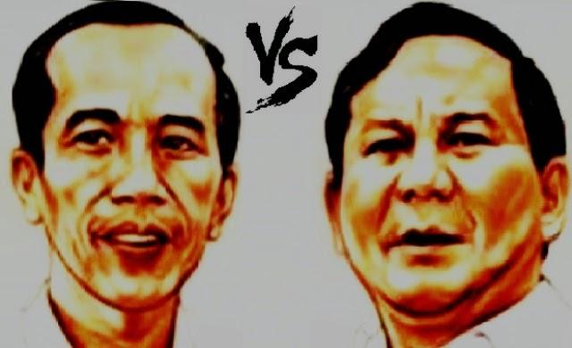 PANTUN POLITIK JOKOWI VS PRABOWO KAMPAYE