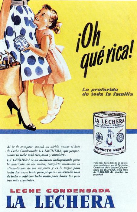 Carteles publicitarios e imagenes retro. España 1950-1962