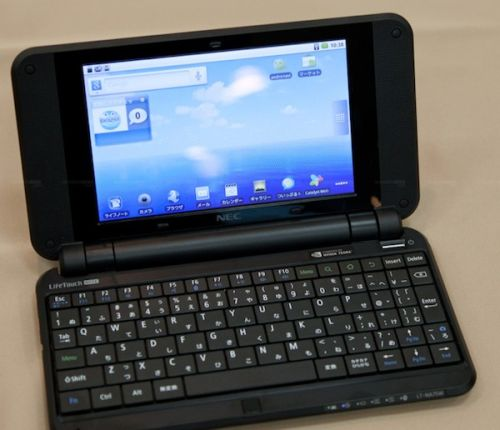 NEC Netbook- LifeTouch Note Gadgets Product