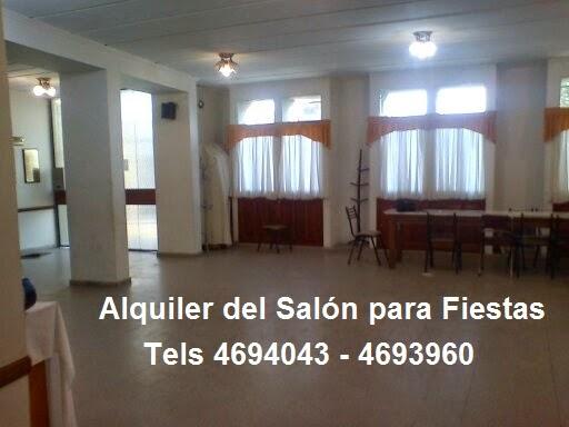 ALQUILER DEL SALÓN