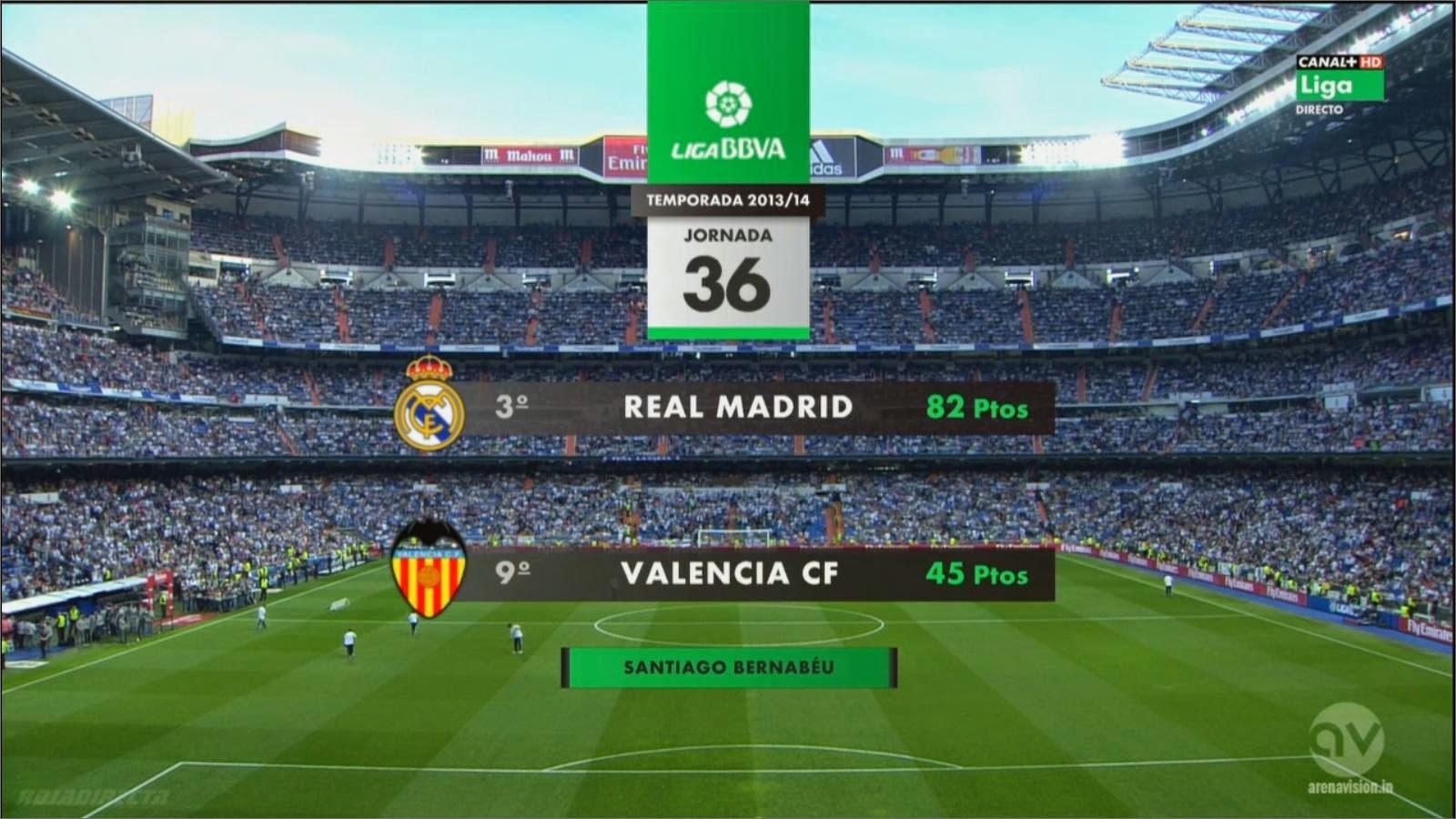 InfoDeportiva - REAL MADRID VS VALENCIA, ONLINE
