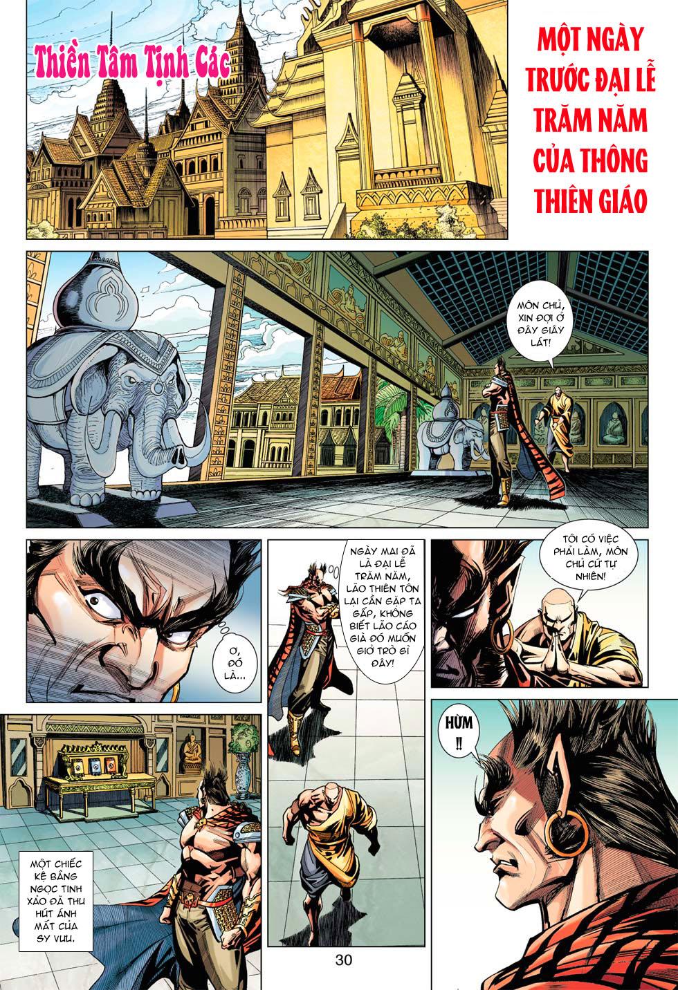 Tân Tác Long Hổ Môn chap 369 - Trang 30