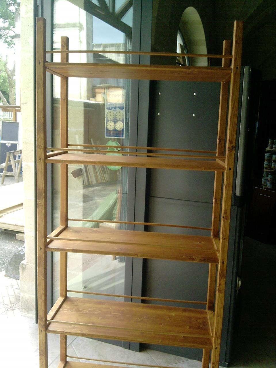 Fai da te hobby legno scaffale for Mensole ciliegio