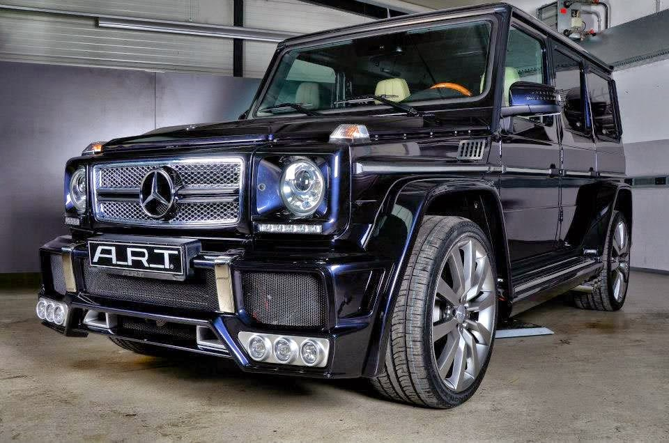 Mercedes benz g65 amg widebody by a r t benztuning for Mercedes benz g wagon v12