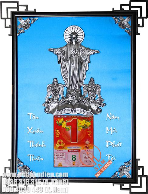 Lịch Tết Phù Điêu Đức Chúa Giê-su cho Tín đồ Công Giáo
