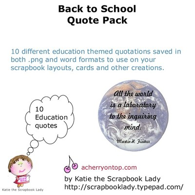 Great Quotes About School