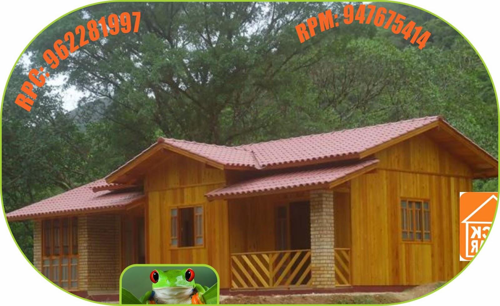 Caba as bungalows rusticos de madera club esparcimientos campestre en peru - Feria de casas prefabricadas ...