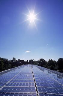 la placa solar