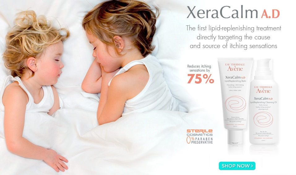 Avene XeraCalm A.D for dry, itchy skin