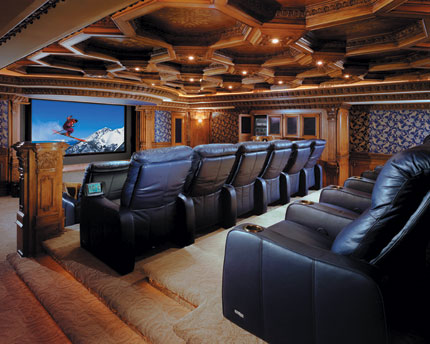 Home Design on Laorosa   Design Junky  Home Movie Theater Renovations  30 Pics