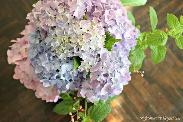 Hydrangea Only Centerpieces : Only from scratch beautiful ways to arrange hydrangeas