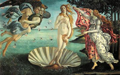 Venere Botticelli Uffizi