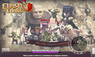 Ubdate Terbaru Game COC (Clash Of Clans) Mod FHx V7 Private Server Indonesia