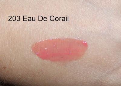 YSL Vernis À Lèvres Pop Water Glossy Stain in 203 Eau De Corail