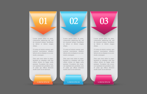 Create Colorful Web Banners Number Options In Photoshop