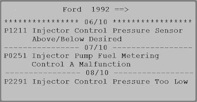 p0251 fault code opel