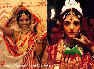 Traditional Bengali Gold Jewellery