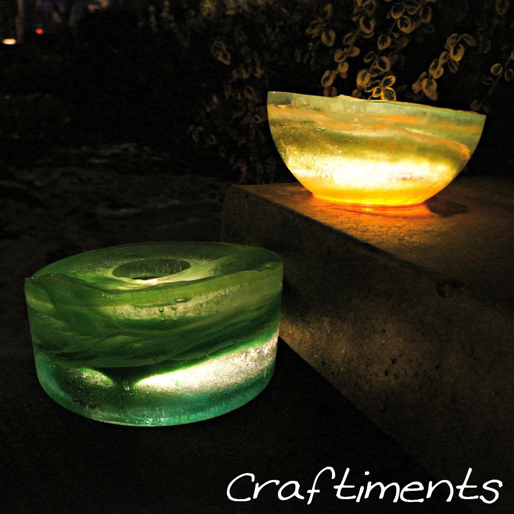 Craftiments:  Ice Lanterns