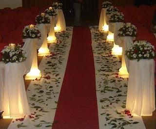 fotos modelo de decoracao de Casamento