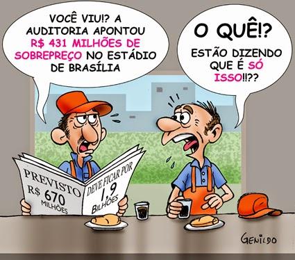 Estádio do Palmeiras custou menos da metado do gasto no do Corinthians