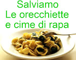 SALVIAMO LE ORECCHIETTE E CIME DI RAPA!!!!!