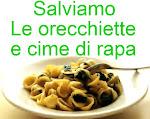SALVIAMO LE ORECCHIETTE E CIME DI RAPA!!!!!