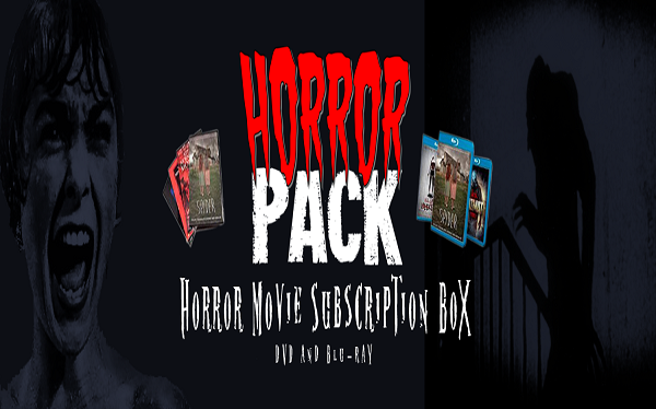 Horror Pack Movie Subscription Box