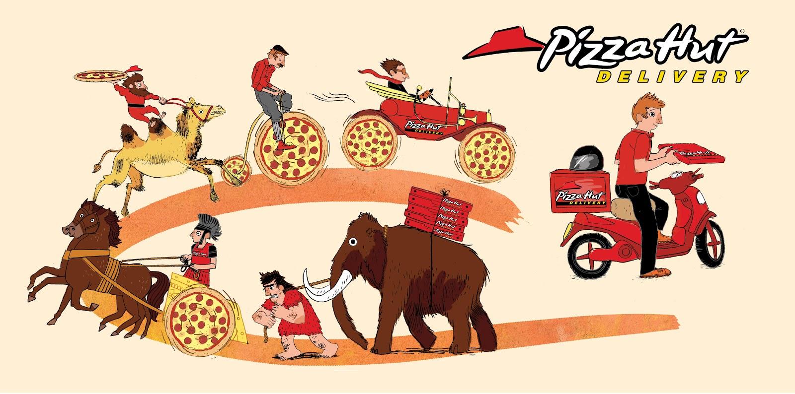 mr steve mccarthys illustration blog: pizza hut menu