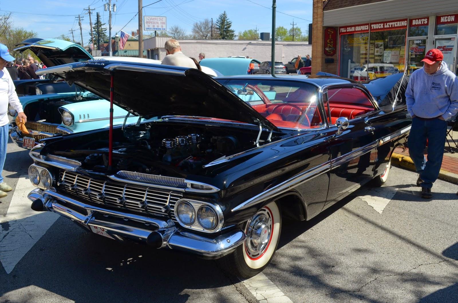 Sharonville Car Show Parking