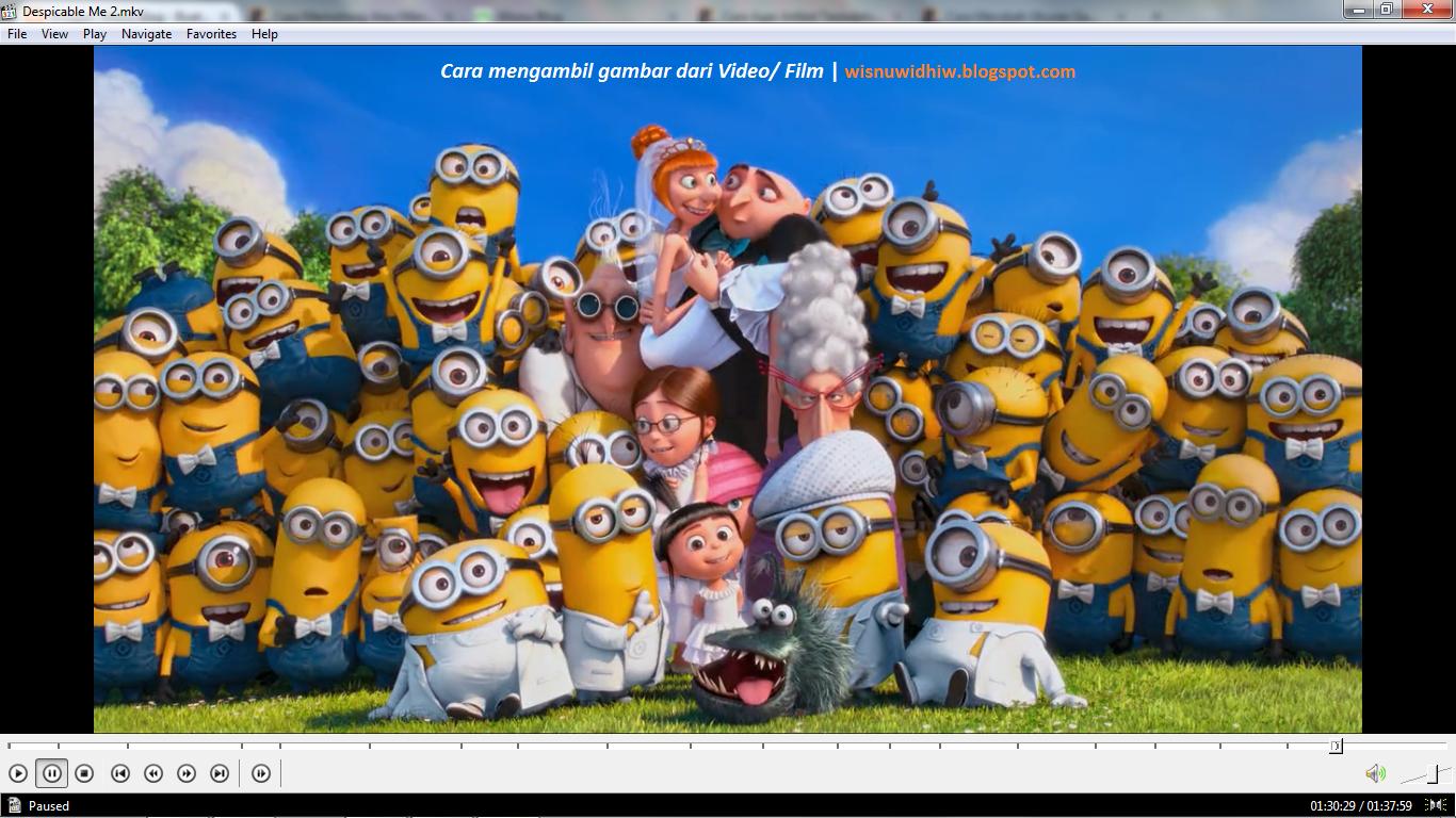Cara Mengambil Gambar dari Film atau Video