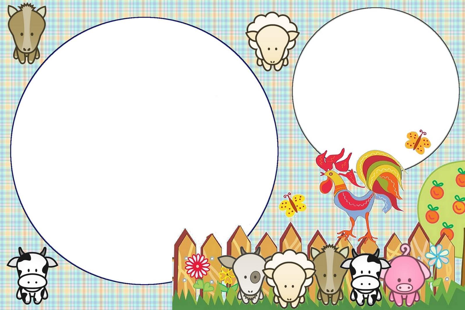Kit Imprimibles animalitos de la granja gratis !! – Souvenirs Ma ...