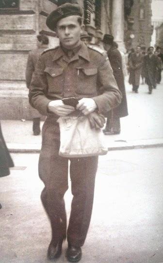 Alojzy Józekowski w Rzymie 1946